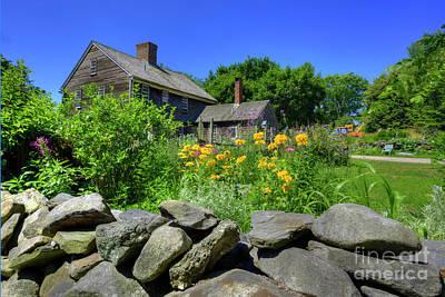 Watson Photograph - New England Farm House by Juli Scalzi