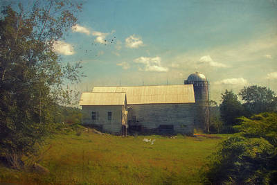Photograph - New England Farm by John Rivera