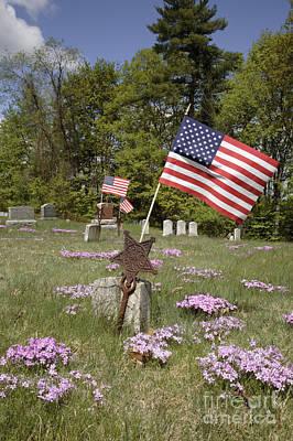 New England Graveyard Art Print by Erin Paul Donovan