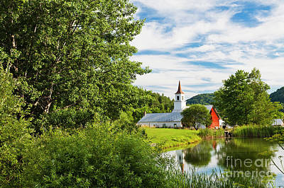 Photograph - New England Idyllic Summer by Alan L Graham