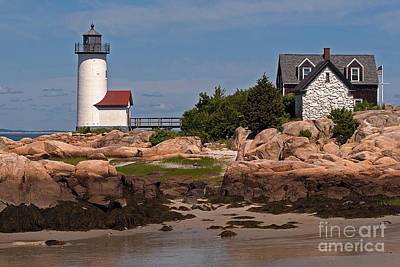 Photograph - New England Light by Robert Pilkington