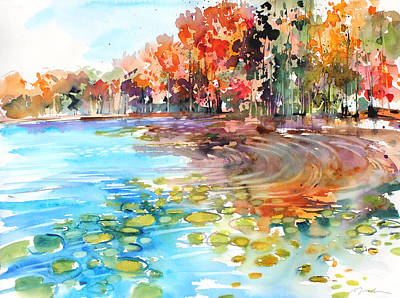 Painting - New England No.227 by Sumiyo Toribe
