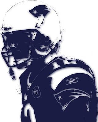 New England Patriots Tom Brady 4 Art Print by Joe Hamilton