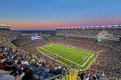 Photograph - New England Patriots Touchdown by Juergen Roth