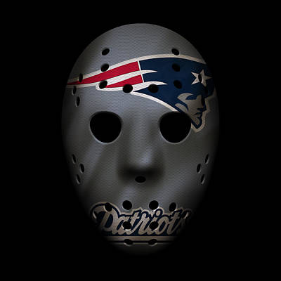 Patriots Photograph - New England Patriots War Mask 3 by Joe Hamilton