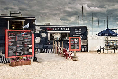Photograph - New England Seafood Express by Robin-Lee Vieira