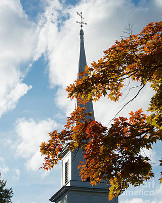 Autumn Pies - New England Steeple by Don Gibson