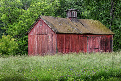 Photograph - New England Summer Barn 2016 by Bill Wakeley