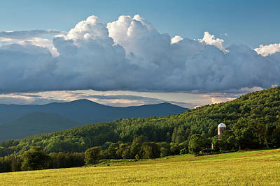 Photograph - New England Summer Countryside by Alan L Graham