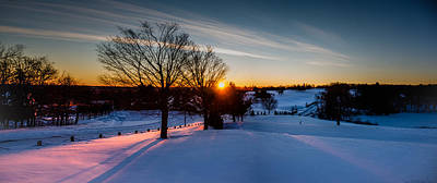 Photograph - New England Sunrise by Robert McKay Jones