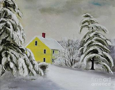 Painting - New England Winter by John Black