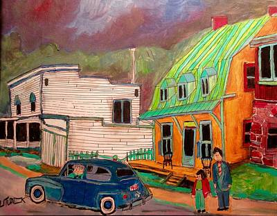 New Glasgow Painting - New Glasgow And The Solloways by Michael Litvack