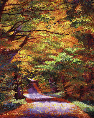 Painting - New Hampshire Country by David Lloyd Glover