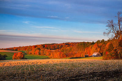 Photograph - New Hampshire Country by Robert Clifford