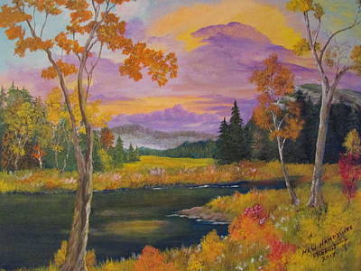 Painting - New Hampshire by Dave Farrow