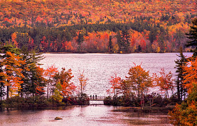 Tapestry - Textile - New Hampshire Fall by Dennis Bucklin