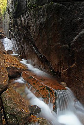 Photograph - New Hampshire Flume Gorge by Juergen Roth