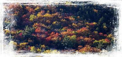 Photograph - New Hampshire Hillside by Sherman Perry