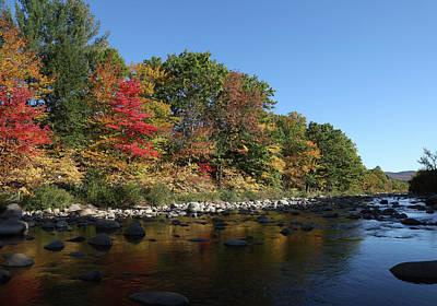 Photograph - New Hampshire River by John Clark