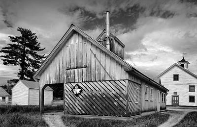 Photograph - New Hampshire Sugar House by Betty Denise
