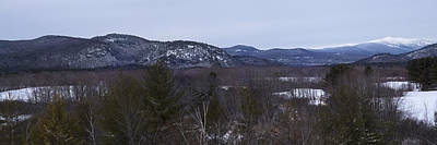 Photograph - New Hampshire White Mountains Panorama Lookout by Toby McGuire