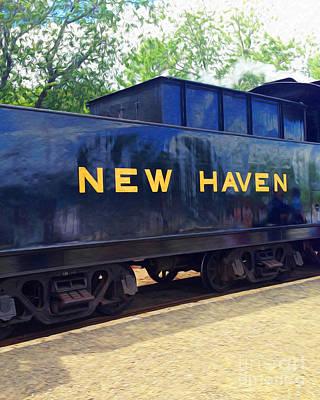 Digital Art - New Haven Line by Joseph Re