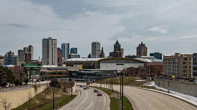 Photograph - New Home Of The Milwaukee Bucks by Randy Scherkenbach