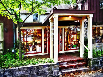 Photograph - New Hope Pa - Craft Shop by Susan Savad