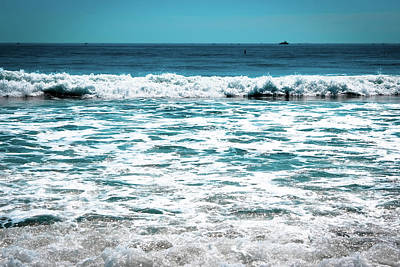 Photograph - New Horizon - Blue Ocean by Colleen Kammerer