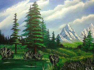 Bob Ross Painting - New Horizons by Christopher Soeters