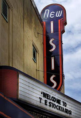 Photograph - New Isis Theater In Fort Worth by David and Carol Kelly