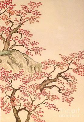 Taikan Painting - New Japanese Artistic Cloud Of Yokoyama Taikan by Sawako Utsumi