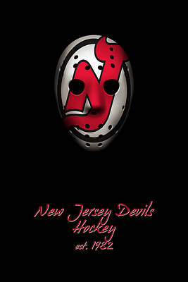 Photograph - New Jersey Devils Established by Joe Hamilton