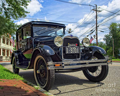 Photograph - New Jersey Ford Model T by Mark Miller