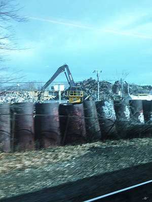 Photograph - New Jersey From The Train 6 by Tony Rubino