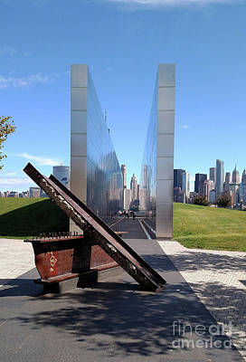 Photograph - New Jersey Memorial 9-11 by Cindy Manero