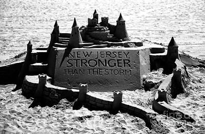 New Jersey Stronger Than Storm Art Print by John Rizzuto