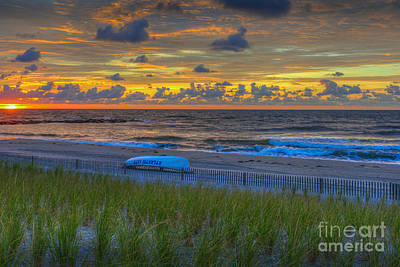 Photograph - New Jersey Sunrise by David Zanzinger