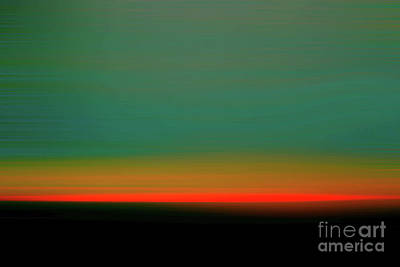 Photograph - New Jersey Sunset by Sandy Moulder