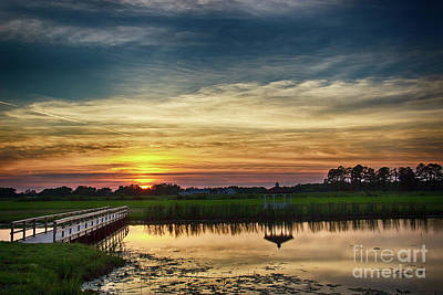 New Jersey Sunset Art Print by Tom Gari Gallery-Three-Photography