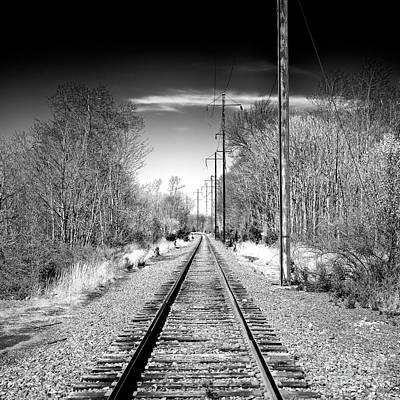 Photograph - New Jersey Tracks by John Rizzuto