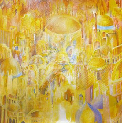 New Jerusalem Art Print by Beka Burns