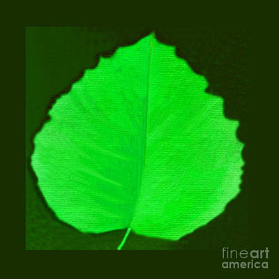 Mixed Media - New Leaf by Helena Tiainen