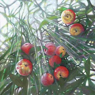 Painting - New Light On Eden by Helen White