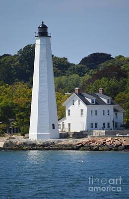 Photograph - New London Harbor Light by Michelle Welles