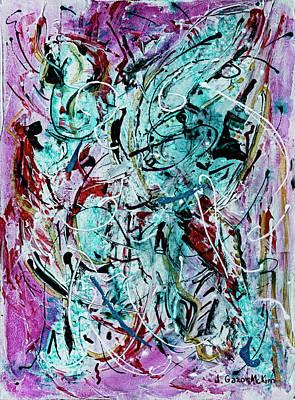 Painting - New Love 1 by Jo-Anne Gazo-McKim