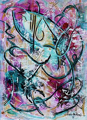 Painting - New Love 3 by Jo-Anne Gazo-McKim