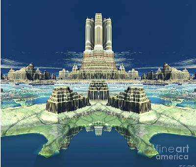 Mayan Mixed Media - New Mayan Capital  by Heinz G Mielke