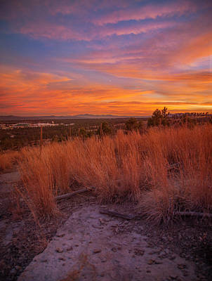Photograph - New Mexican Sunset by Elena E Giorgi