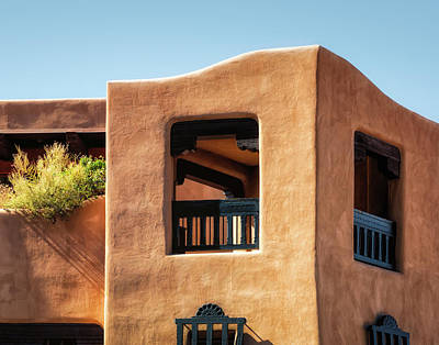 Photograph - New Mexico Architecture by James Barber